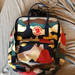 FJALLRAVEN KANKEN ✨ art backpack